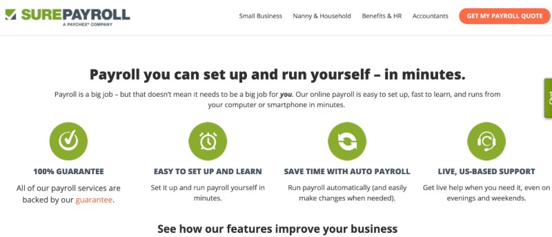 SurePayroll  - Best Online Payroll Provider for Small Business