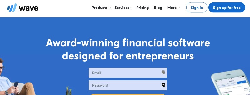Wave - One Of The Best Accounting Software for Startups (& Small Businesses)