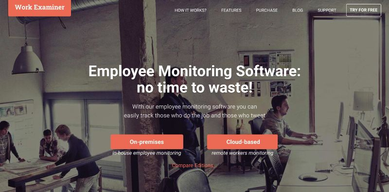 Work Examiner  - One Of The Best Remote Employee Monitoring Software