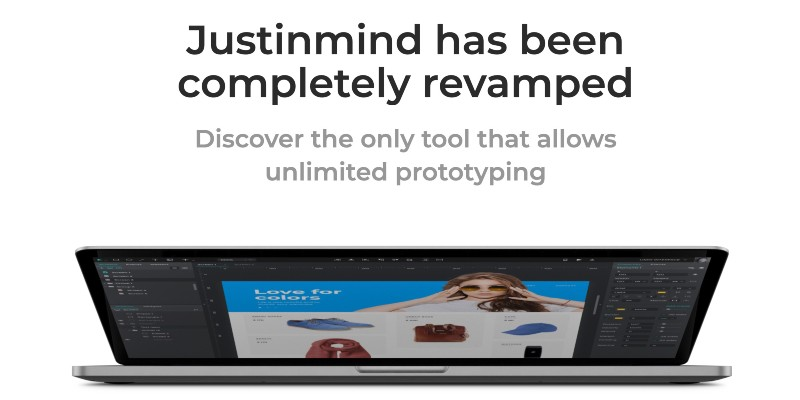 Justinmind Unlimited Prototyping