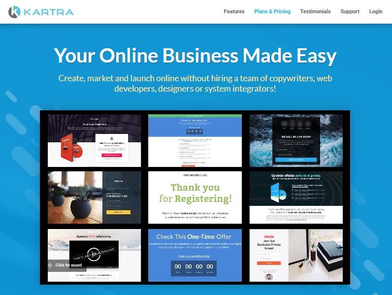 Kartra - Best Sales Funnel Software
