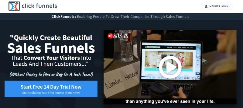 ClickFunnels - Best Sales Funnel Software