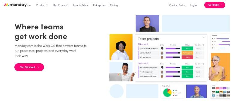 Monday.com - Best Project Management Software