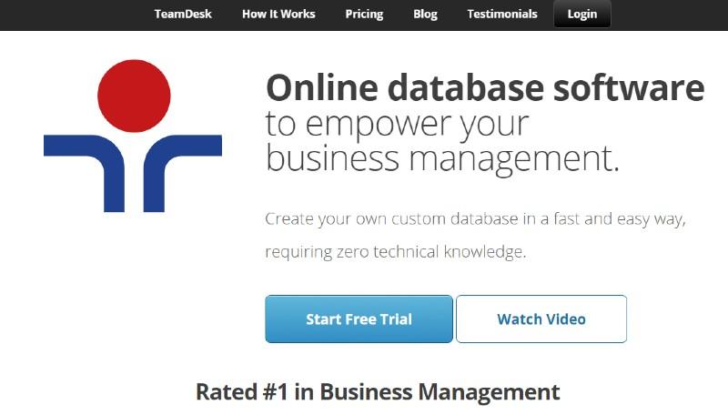 TeamDesk - Best Database Software
