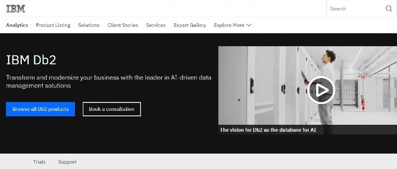 IBM - Best Database Software