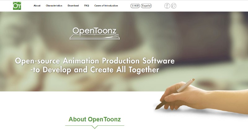 Open Toonz - Best Animation Software for Beginners