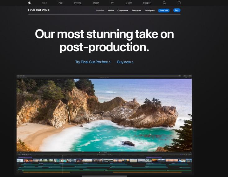 Apple Final Cut Pro X - Best Video Editing Software