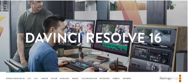 DaVinci Resolve Studio - Best Video Editing Software
