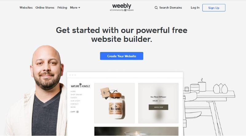 Weebly - Best E-Commerce Website Builders