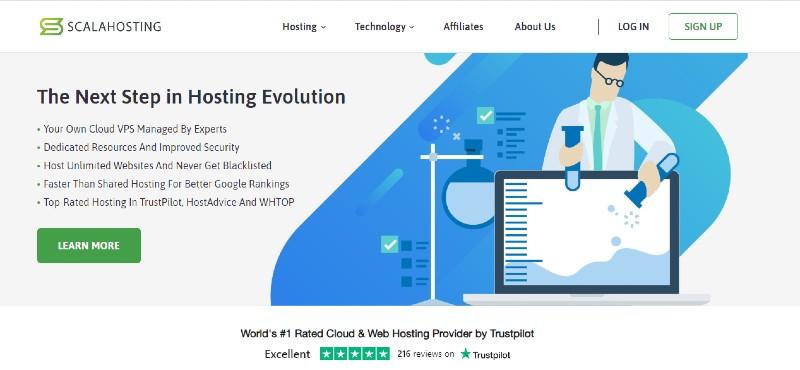 ScalaHosting - Best VPS Hosting