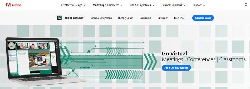 Adobe Connect - Best Presentation Software Programs