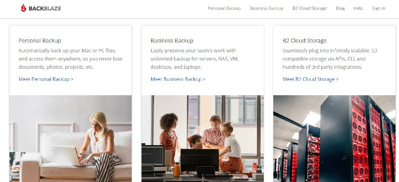 Backblaze - Best Cloud Storage and Online Back-up Systems
