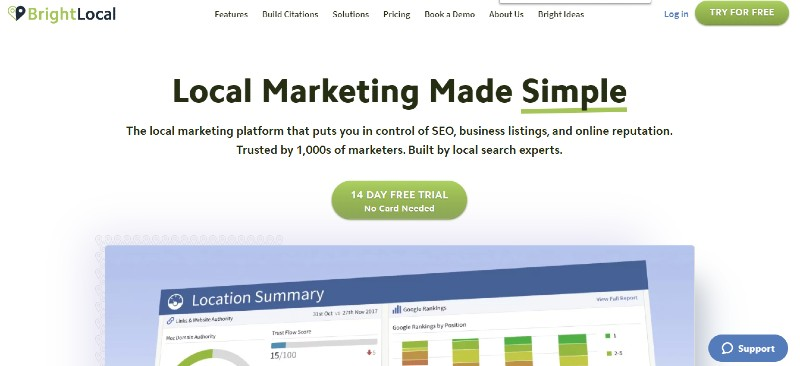 BrightLocal - Best SEO Tools