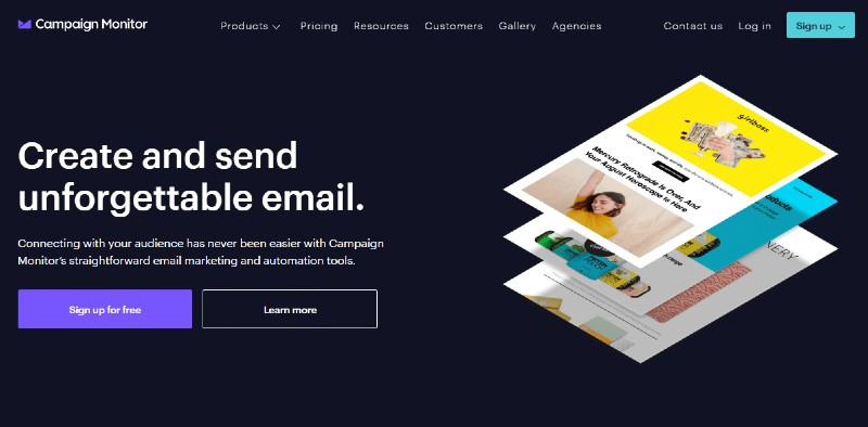 CampaignMonitor - Best Email Marketing Services
