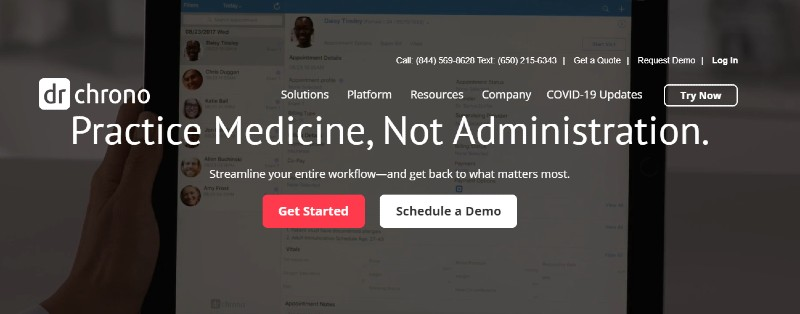 DrChrono - Best Medical and Healthcare Practice Management Software