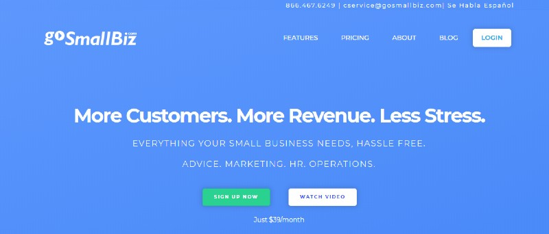GoSmallBiz - Best Business Plan Software