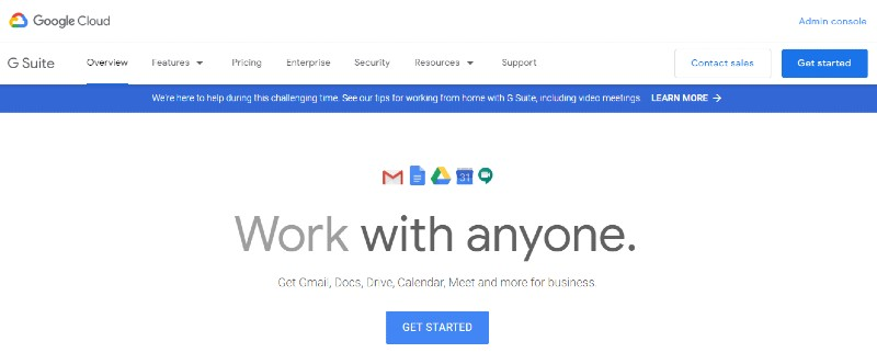 Google Online Suite - Best Employee Management Software