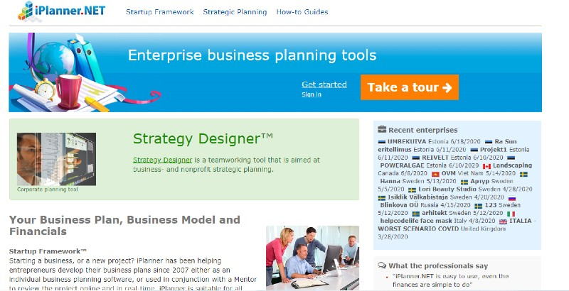 iPlanner - Best Business Plan Software