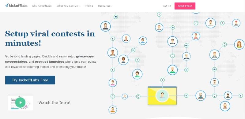 Kickofflabs - Best Landing Page Builders