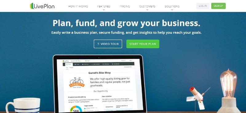 LivePlan - Best Business Plan Software