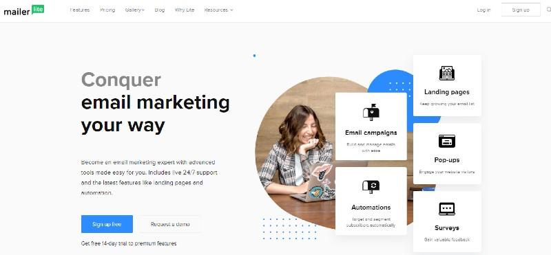 Mailerlite - Best Email Marketing Services
