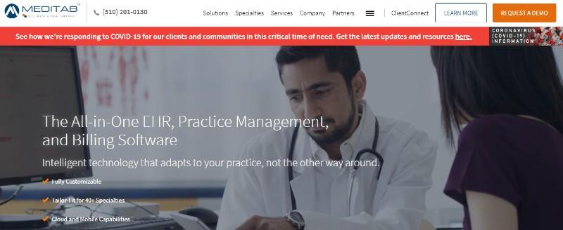 Meditab - Best Medical and Healthcare Practice Management Software