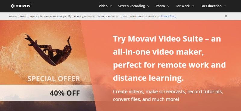 Movavi - Best Screen Recorders