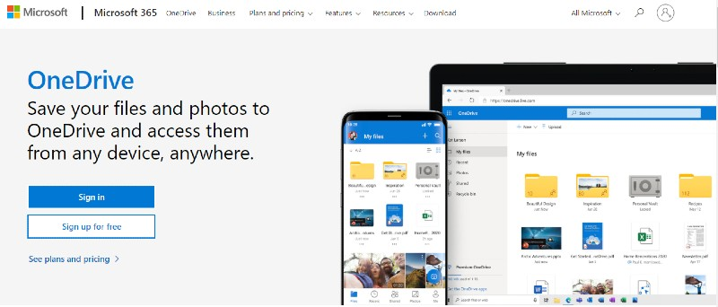 OneDrive - Best Cloud Storage and Online Back-up Systems