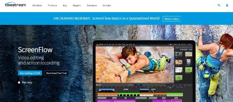 ScreenFlow - Best Screen Recorders