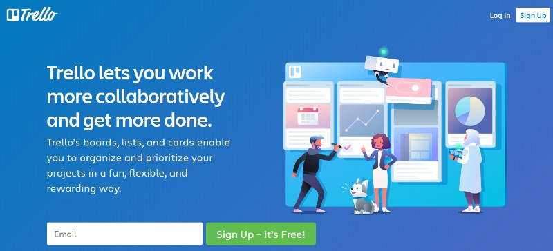 Trello - Best Employee Management Software