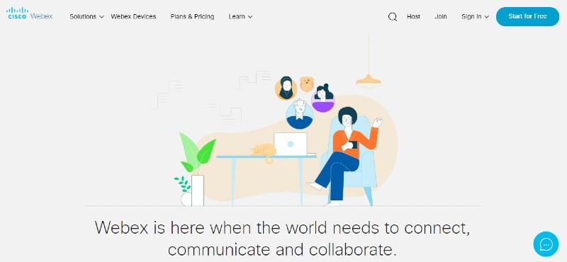 WebEx - Best Webinar Software