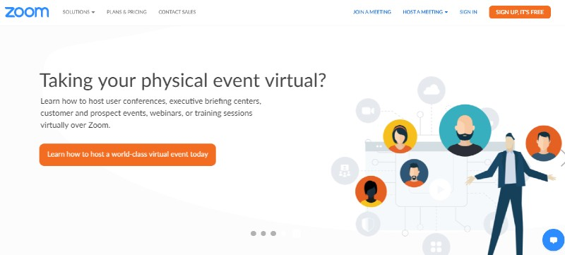 Zoom - Best Webinar Software