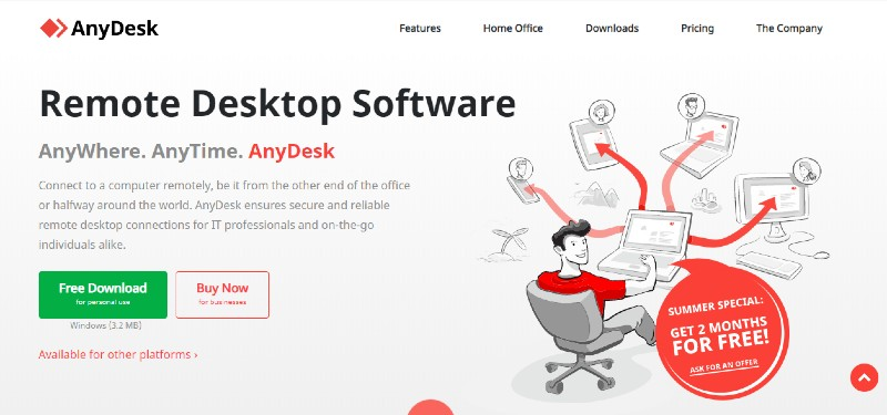AnyDesk - Best Remote Desktop Software And Access Tools