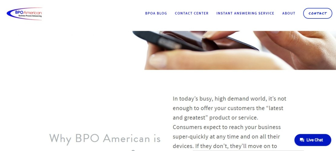 BPO American - Best Business Answering Services