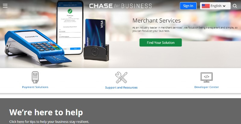 Chase Merchant Services - Best Mobile Credit Card Processing Solutions