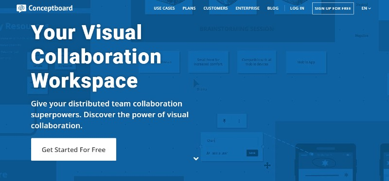 Conceptboard - Best Content Creation Tools