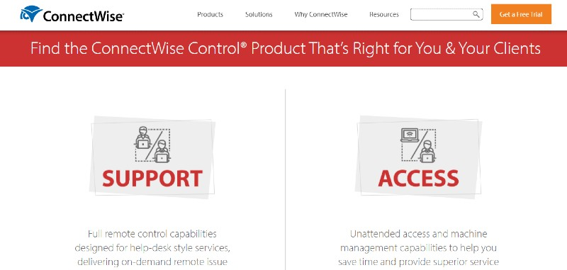 Connectwise Control - Best Remote Desktop Software And Access Tools