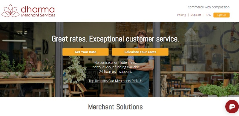 Dharma - Best Mobile Credit Card Processing Solutions