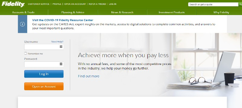 Fidelity Workplace Services - Best Small Business 401k Plans