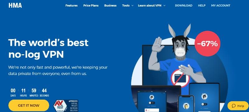 HideMyAss - Best VPN Service Providers