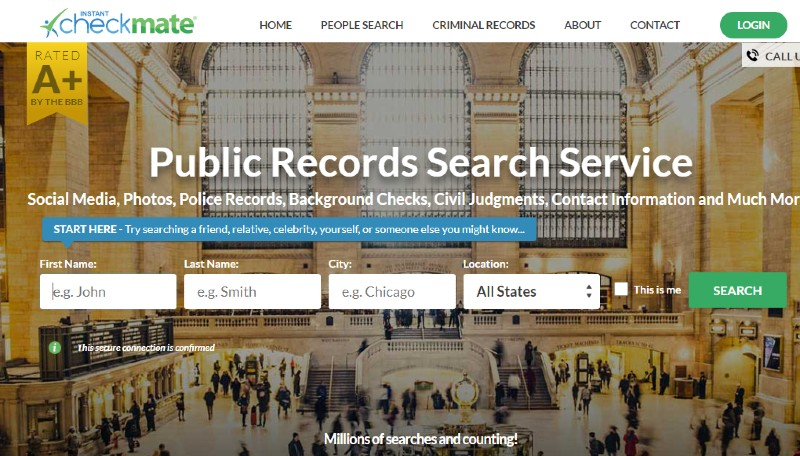 Instant Checkmate - Best Background Check Companies