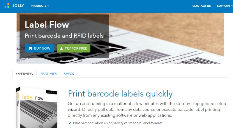 Label Flow - Best Label Designing and Printing Software