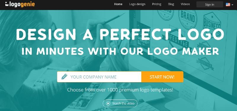 Logo Genie - Best Online Logo Designer Software