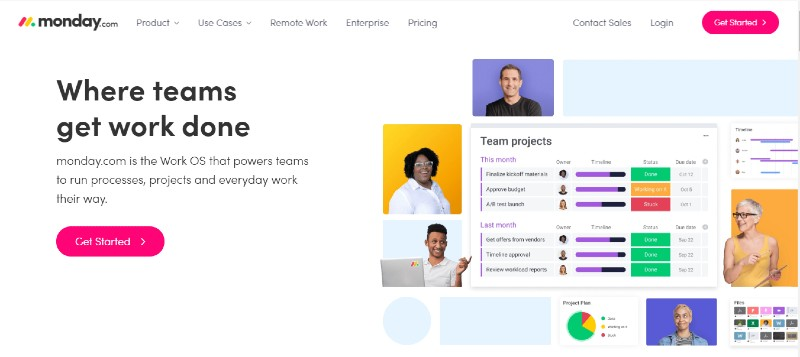 Monday.com - Best Team Collaboration Software