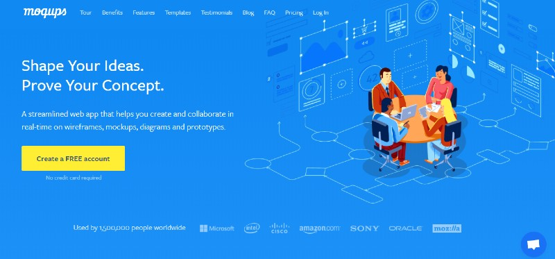 Moqups - Best Wireframing and Prototyping and Mockup Tools