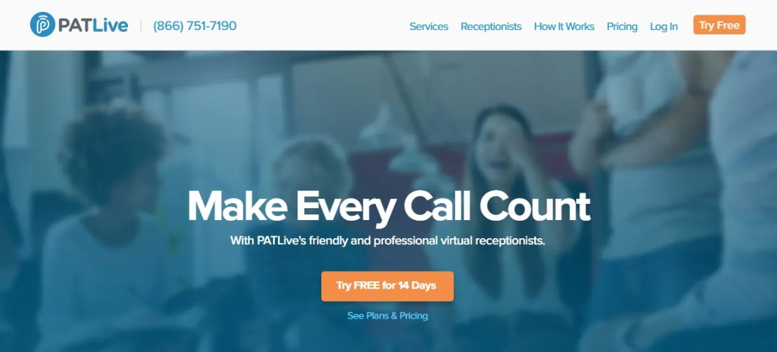 PATLive - Best Business Answering Services