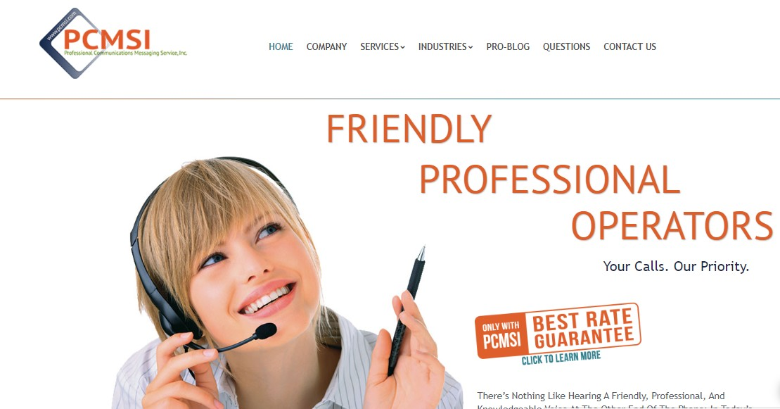 PCMSI - Best Business Answering Services