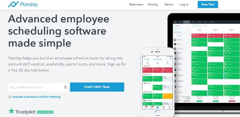 Planday - Best Scheduling Software
