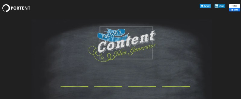 Portent - Best Content Creation Tools