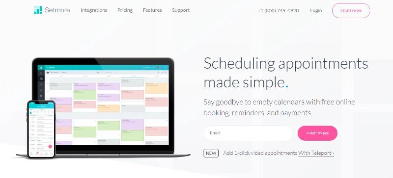 Setmore - Best Scheduling Software